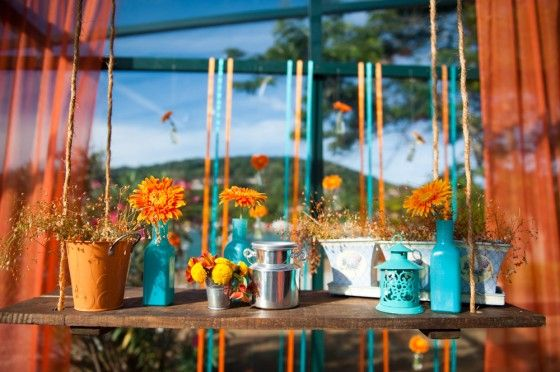 decoracao quarto azul turquesa e amarelo:Found on weddinginsummer.blogspot.com.br