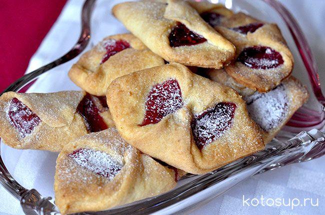 Печенье в вареньем рецепт