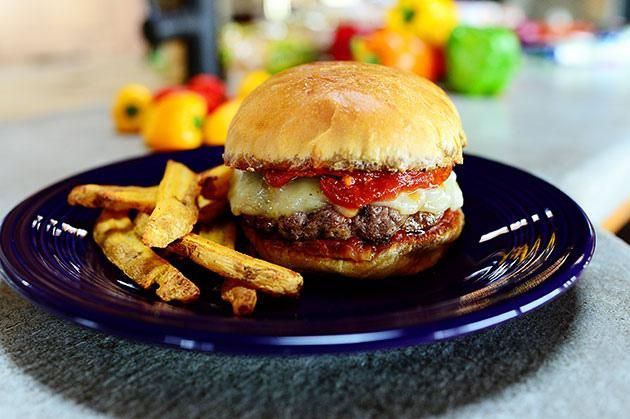 How To Make Supreme Pizza Burgers | Foodie! | Pinterest