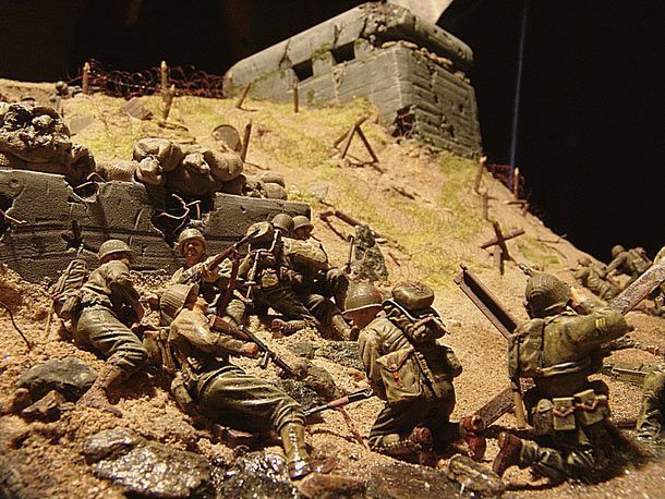 saving private ryan d day battle