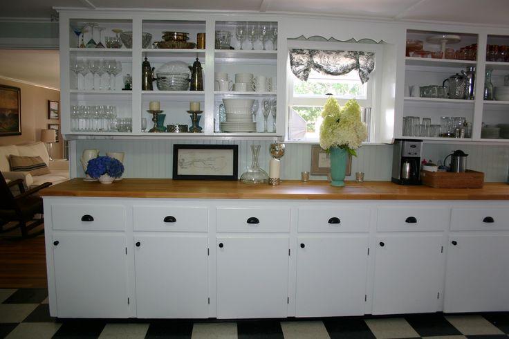 Beach cottage kitchen cabinets mabs beach cottage for Beach cottage kitchen cabinets