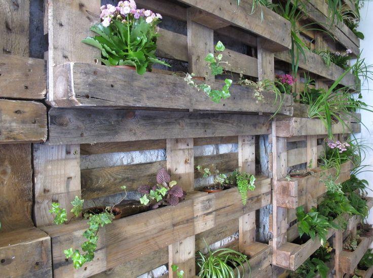 fioriera da parete ispirazioni per il giardino - for the garden P ...
