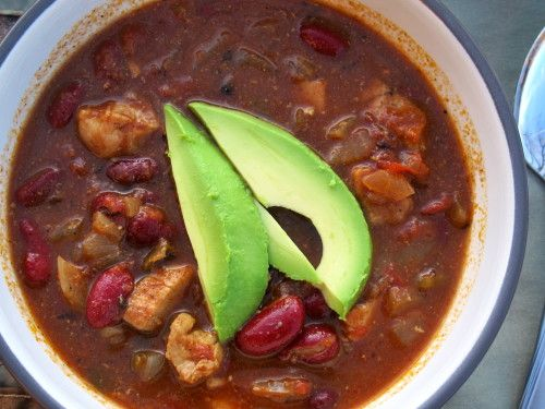 Chipotle Chicken Chili | Soup | Pinterest
