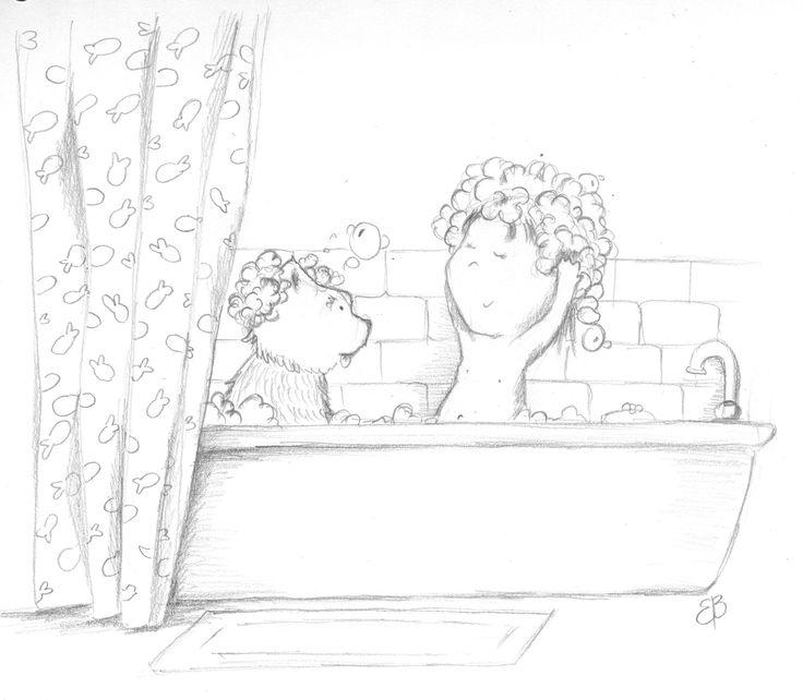 together..sketch for illustrtion friday