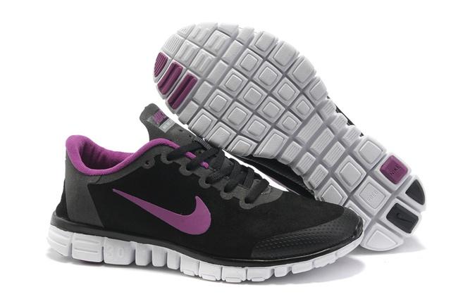 Nike Free Womens Shoes Black pink