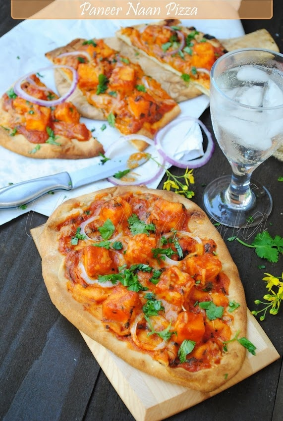 paneer makhani pizza = my two favorite foods in one!