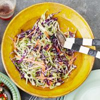 Coleslaw with Apple and Yogurt Dressing - sounds like a delicious slaw