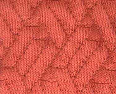 Pavilion Knitting Stitch