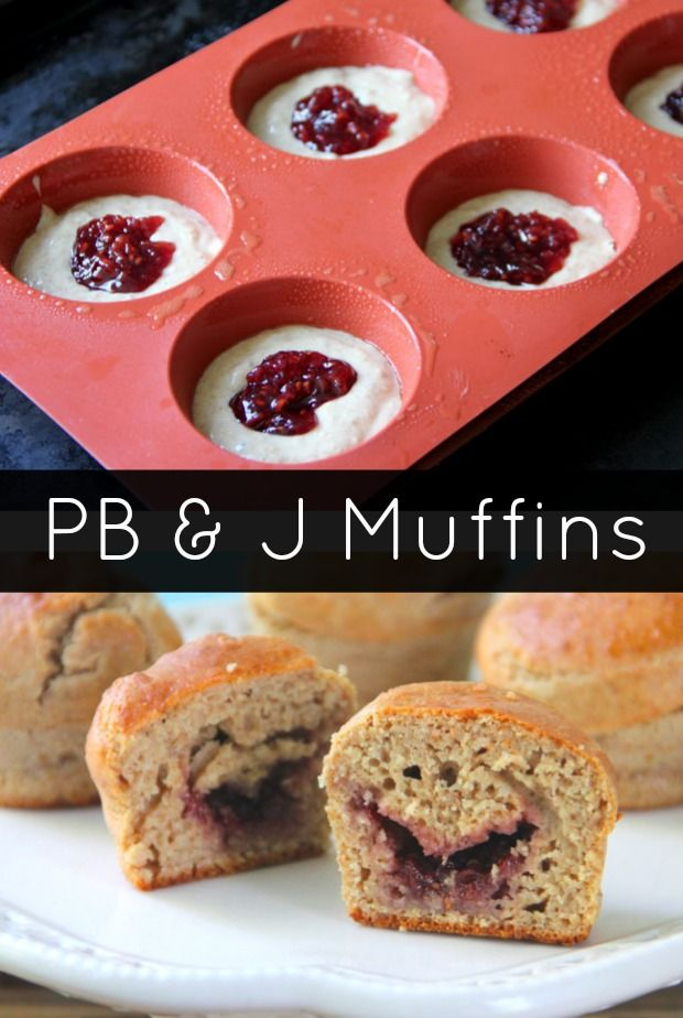 Peanut Butter and Jelly Muffins | Recipe
