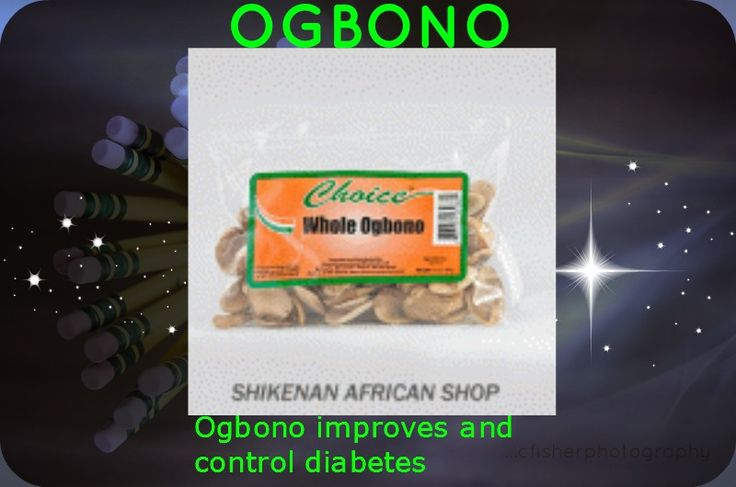 Ogbono improves and control diabetes