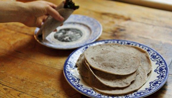 Gluten-Free Wrap Recipe- Millet Buckwheat Tortillas Recipe ...
