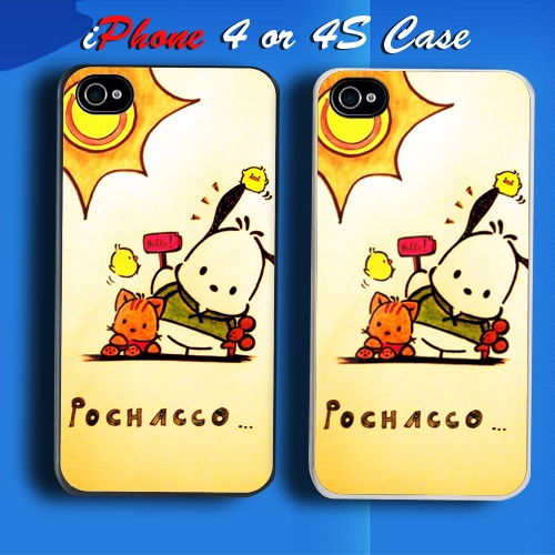 Pochacco Sanrio Custom Iphone 4 Or 4s Case Cover My