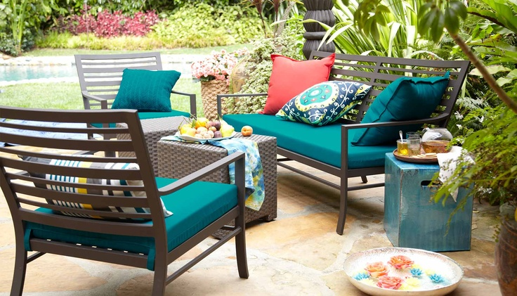 crate barrel patio furniture patio ideas pinterest