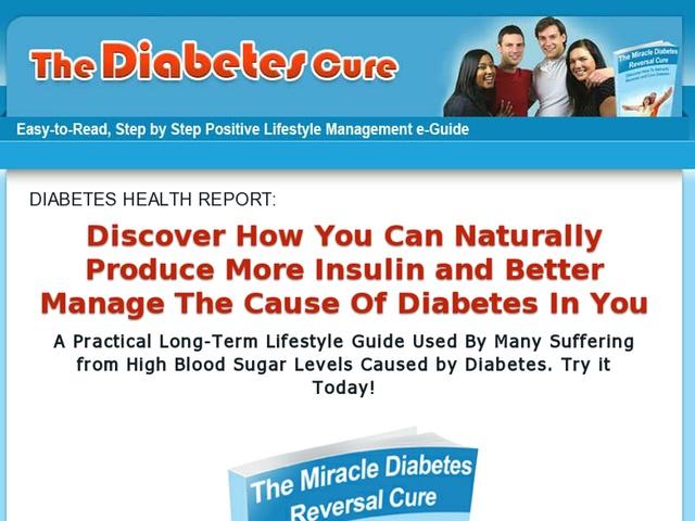 Diabetes miracle cure   5 free bonuses