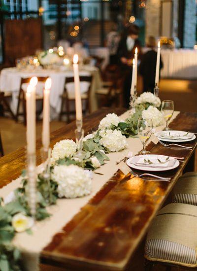 Pin Wedding & Marie by burlap runner Pinterest Belson on wedding table   Caleb's Lora pinterest Ashley