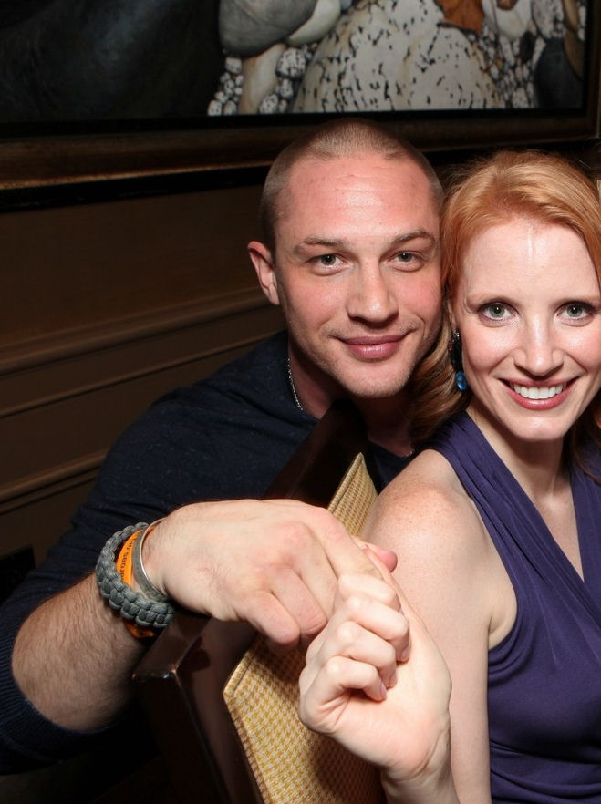 Tom Hardy and Jessica Chastain | Inspiring People | Pinterest Jessica Chastain Husband