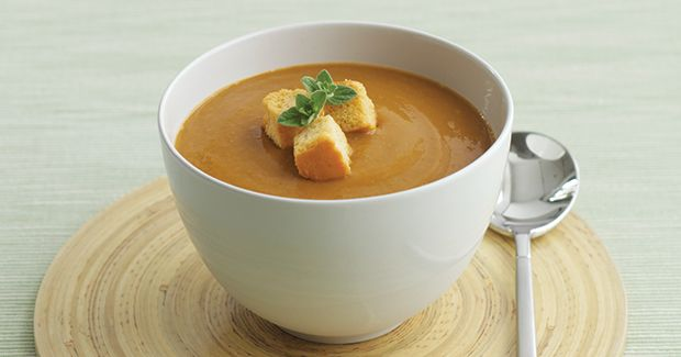 Spiced Sweet Potato Soup | Yummy Food ~ Soups | Pinterest
