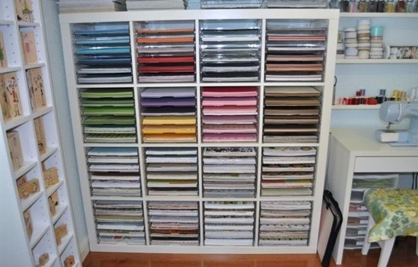 IKEA Craft Room Storage Solutions 610 x 390
