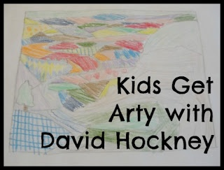 kids get arty with david hockney