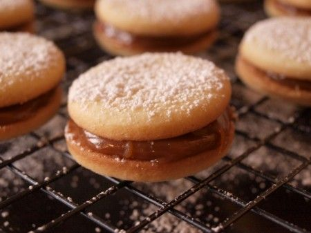 Alfajores? Apparently, they're popular in Argentina and Chile. I'm ...