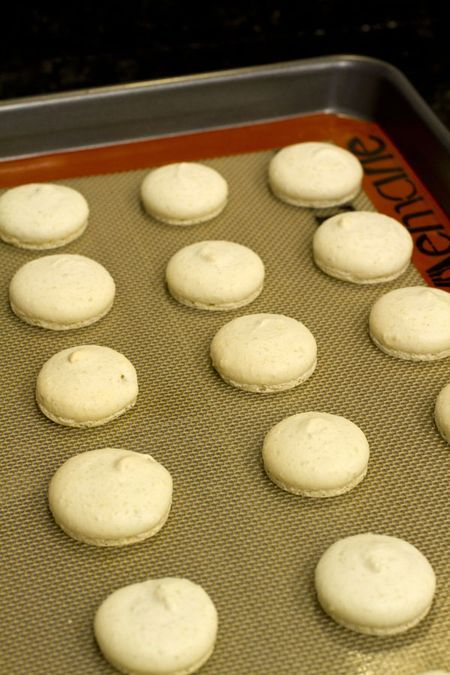 Italian Meringue Macarons with Lemon Verbena Ganache | Recipe