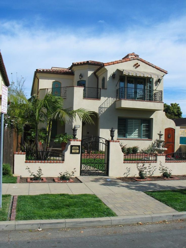 spanish colonial style home krai new residential pinterest