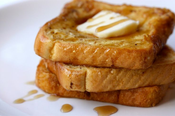 eggnog french toast | French Toast Though Not From France | Pinterest