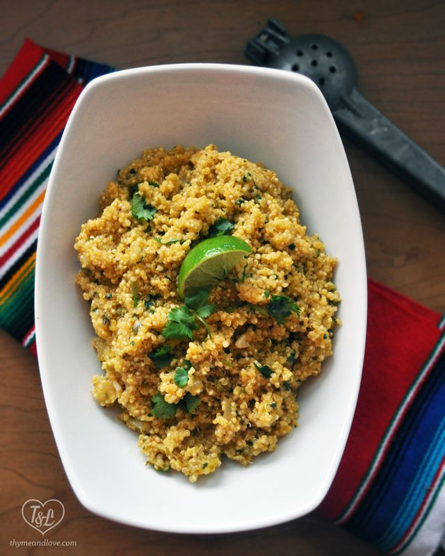 bright and flavorful quinoa side dish | Foods | Pinterest