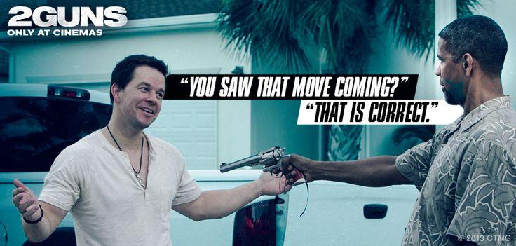 Guns movie quote - Denzel Washington and Mark Wahlberg #2Guns #movies ...