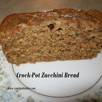 Crock-Pot Zucchini Bread Recipe - Crock-Pot Ladies & ZipList