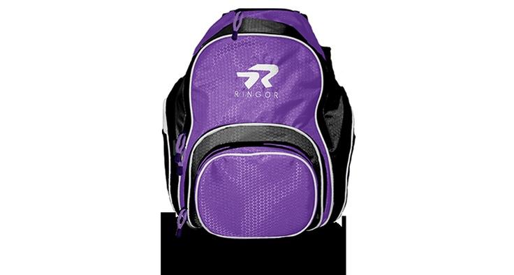 Ringor Backpack Bat Bag- BlackPurple