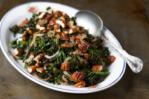 Roasted broccolini salad   Food for the Soul   Pinterest