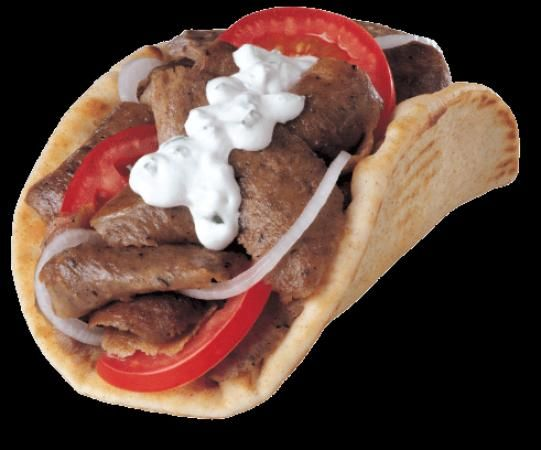 Gyro with lots of cucumber sauce | ~ Good Eats and Yummy Drinks ~ | P ...