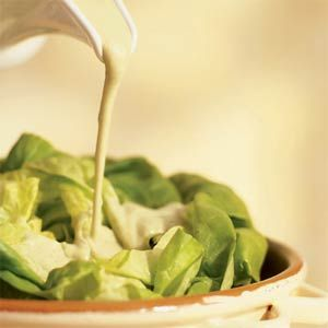 Sesame Tofu Dressing: Creamy dressing and only 14 cal. per tablespoon.