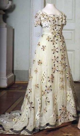 Dresse of Tsarina Alexandra Romanova, 1890s-1910s