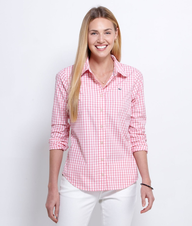 Gingham Shirt Srat So Hard Pinterest