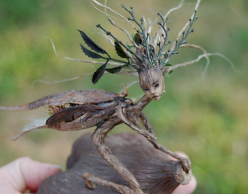 Wood nymph...fairy cousin | hadas | Pinterest