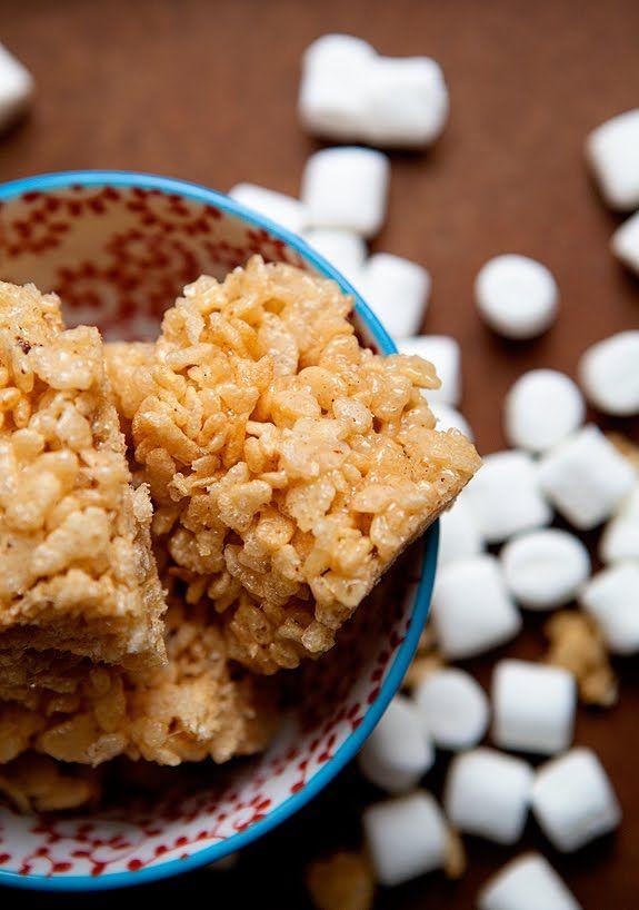 CUP OF JO: Caramelized Brown Butter Rice Krispie Treats