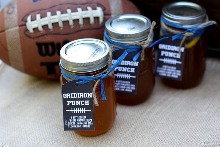 GridIron punch from @Courtney Baker Whitmore at Pizzazzerie