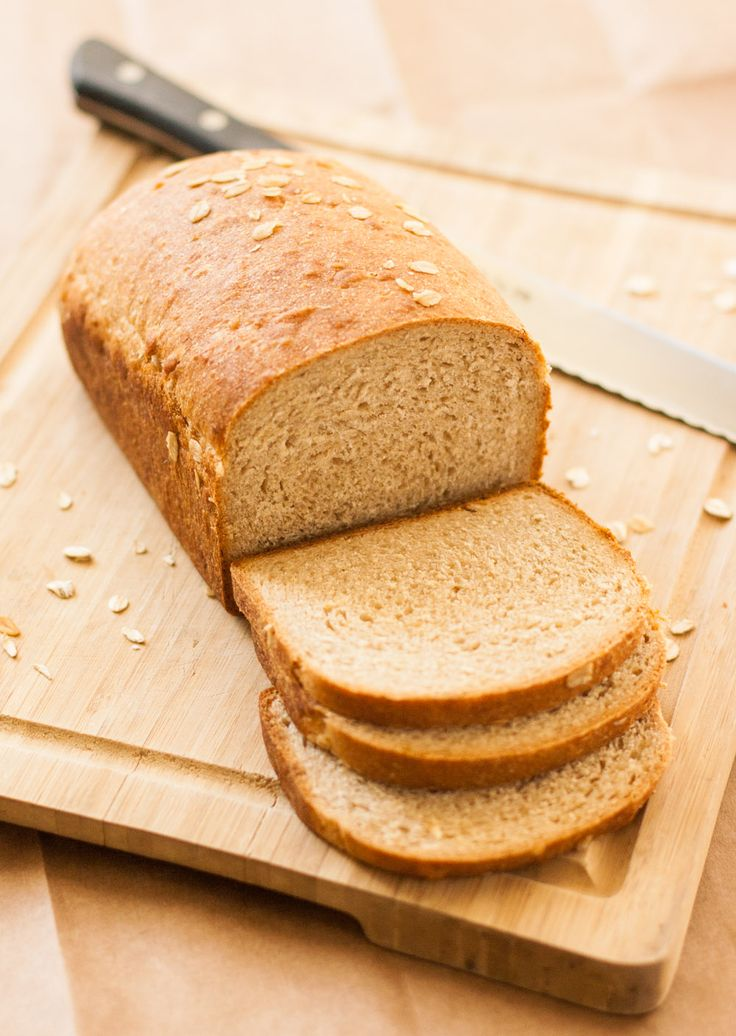 Maple Oat Bread - easy wholegrain deliciousness! | http ...