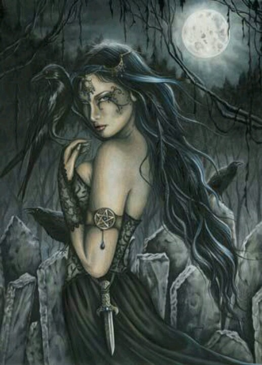 Morrigan Celtic Raven Goddess
