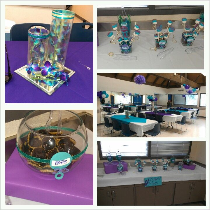 purple and turquoise baby shower events pinterest