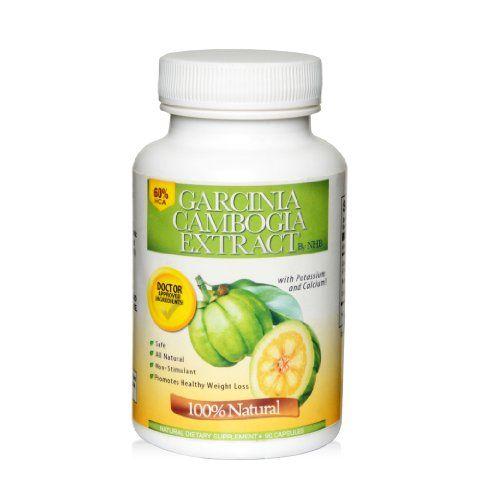 Pure Garcinia Cambogia Extract, 60% HCA, 1500mg Per Serving, 90 Veg