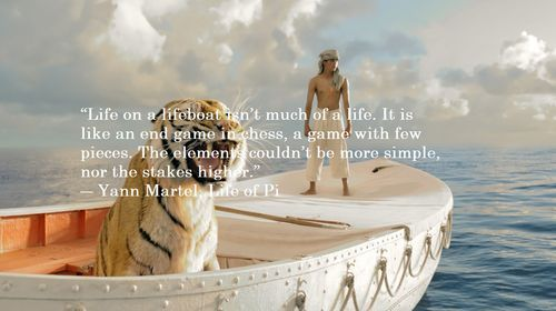 Life of Pi Quotes Inspirational Quotes Pinterest