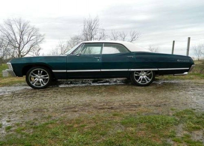 1967 Chevrolet Impala 4 door Hardtop Supernatural 67 Chevy 4dr for