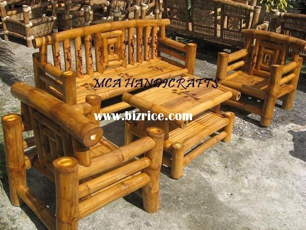 Patio furniture bamboo patio furniture for Bamboo patio furniture