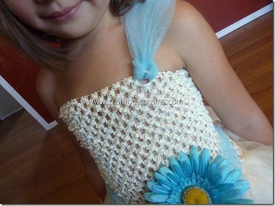 Tulle Flower Girl Dresses Tutorial 11
