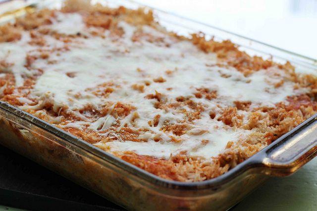 sicilian rice ball casserole | YUMMY (: | Pinterest