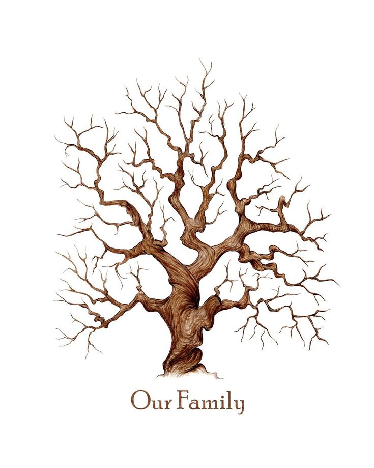 Family Reunion Tree Template