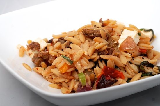 Orzo with Roasted Vegetables | Dinner Ideas | Pinterest